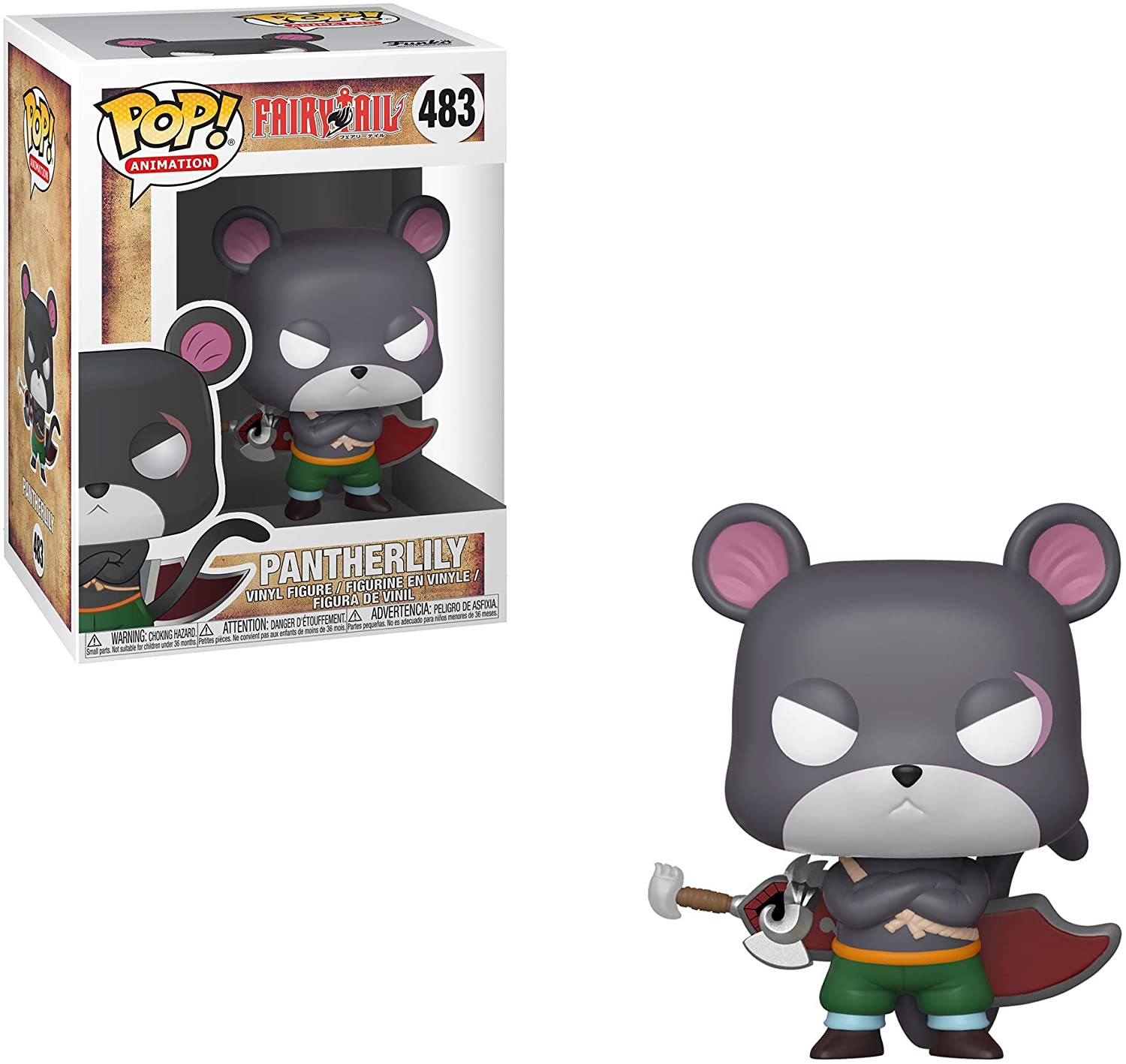 FUNKO POP PANTHER LILY #483 FAIRY TAIL ANIMATION