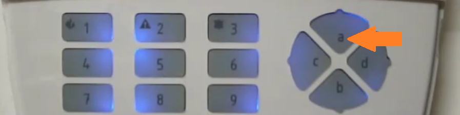 Regolazione volume tastiera Lcd Bentel Absoluta 2png
