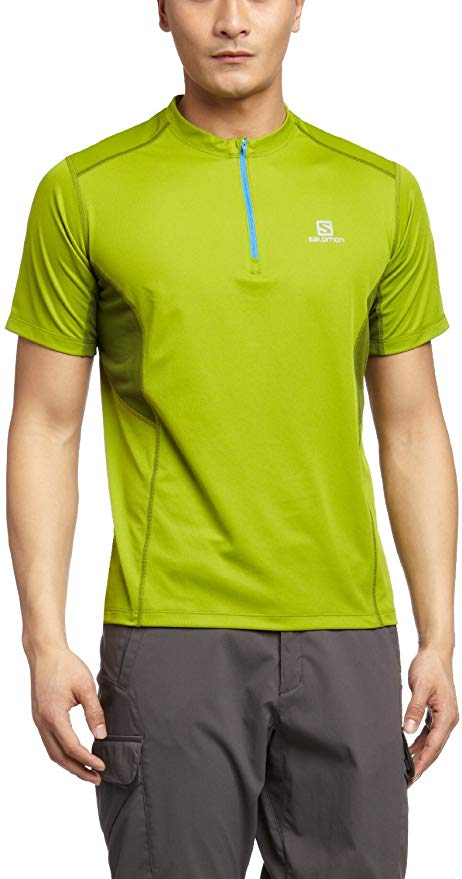 SALOMON Start Zip Tee TAGLIA S
