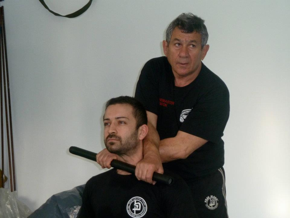 Training with the official successor of Krav Maga Founder