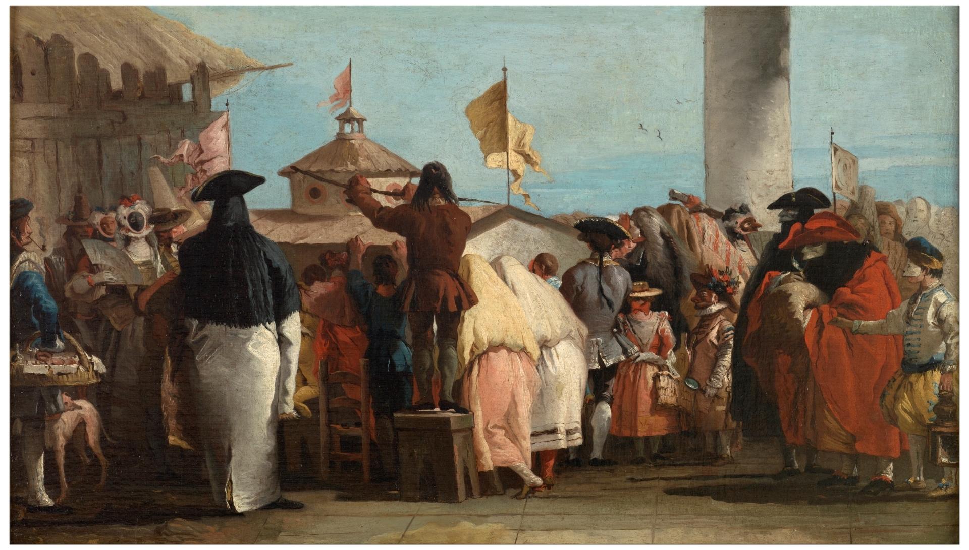 Mondo Novo GIandomenico Tiepolo 1765 Madrid Museo del Pradojpg