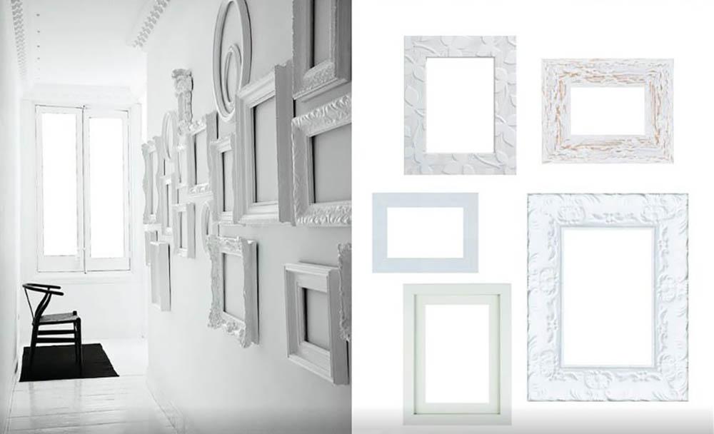 Idee-per-decorare-una-parete-con-le-cornici-leroy-merlinJPG