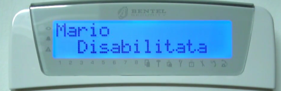 Come disabilitare_riabilitare radiochiave Bentel Absoluta - YouTube  Mozilla Fipng