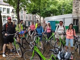 Gruppo di ciclisti a Maastrichtjpg