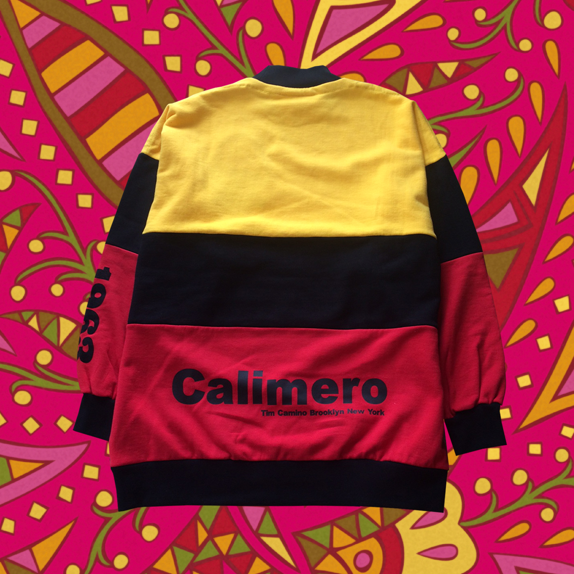 Big sweatshirt striped   Tim Camino X Calimero