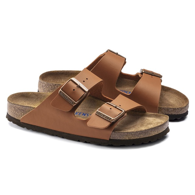 Arizona soft footbed GINGER BROWN BIRKENSTOCK  UOMO/DONNA