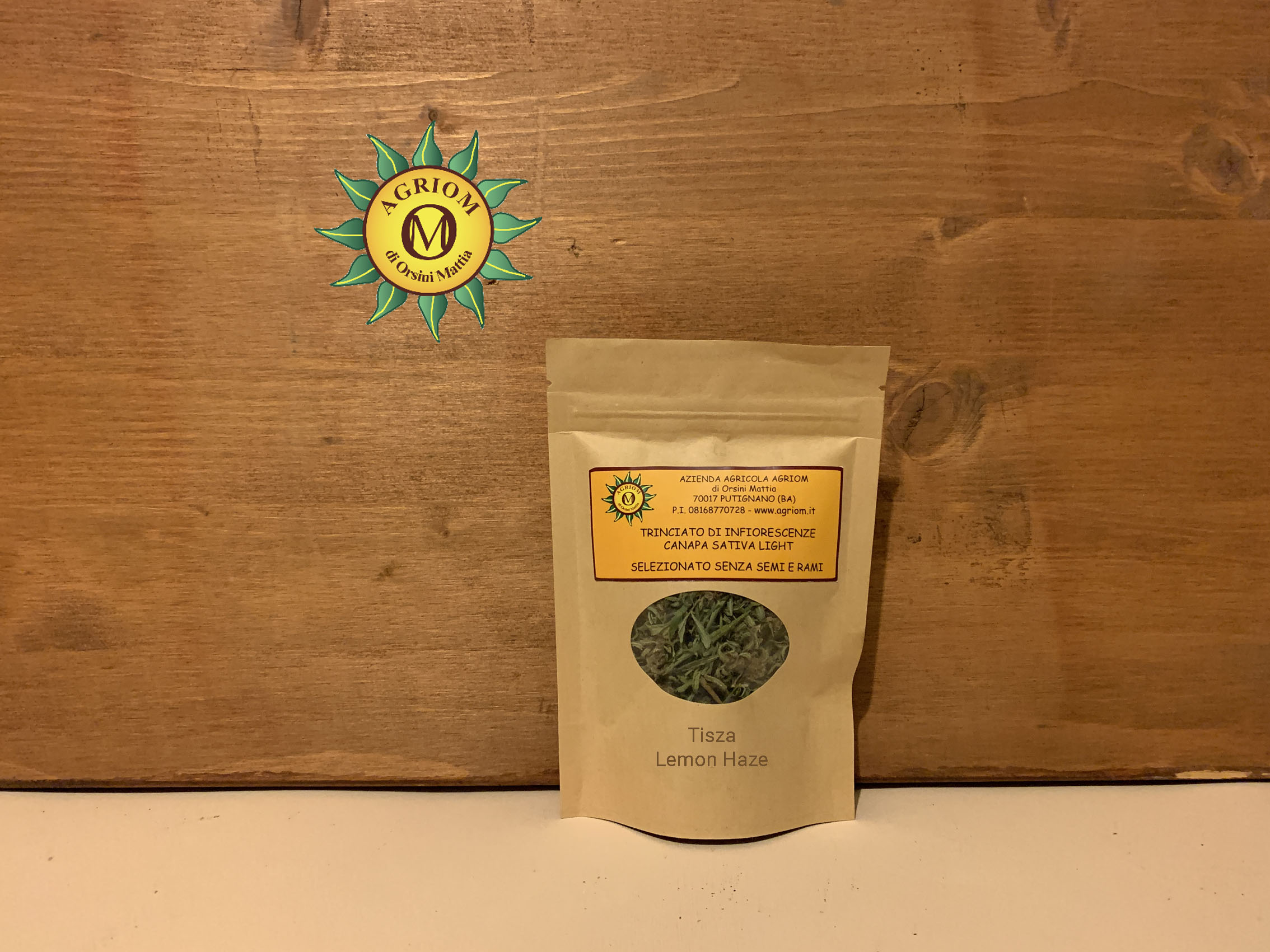 Trinciato di infiorescenze di Canapa Sativa Light Lemon Haze   10 g