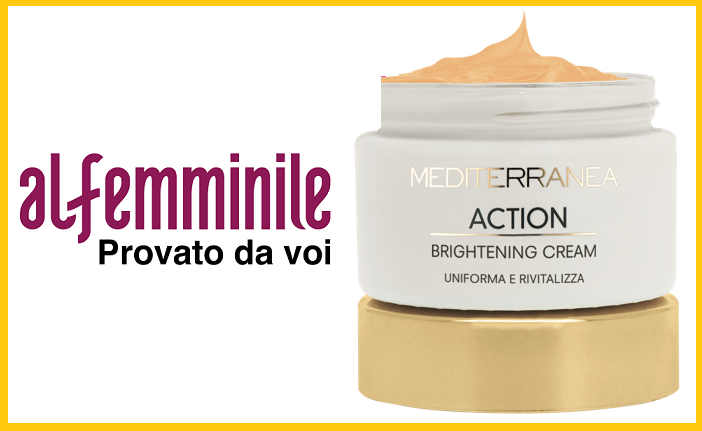 Tester MEDITERRANEA ACTION BRIGHTENING CREAM