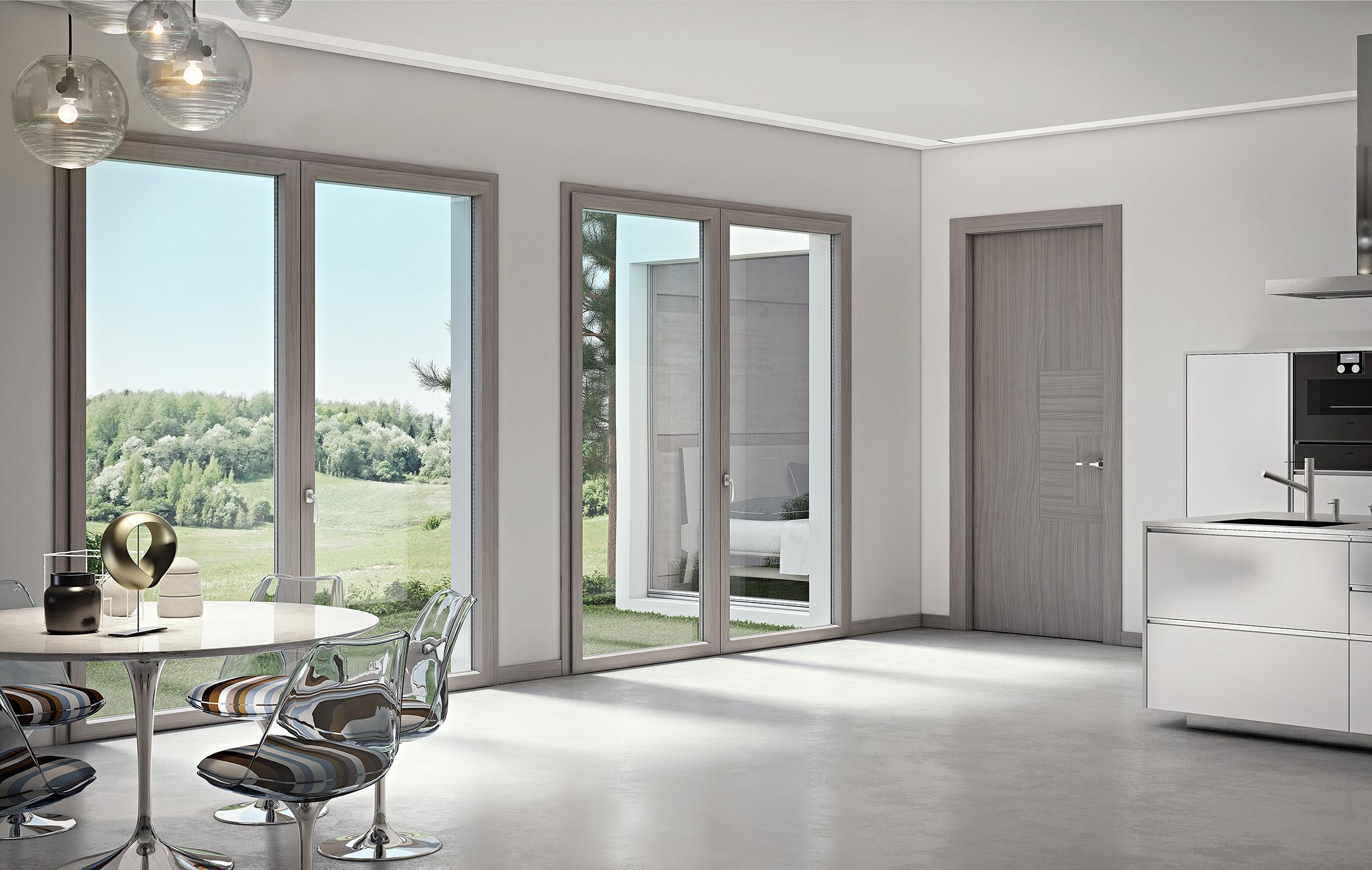 Colori Infissi In Alluminio t&t service - infissi | porte | blindati | pvc