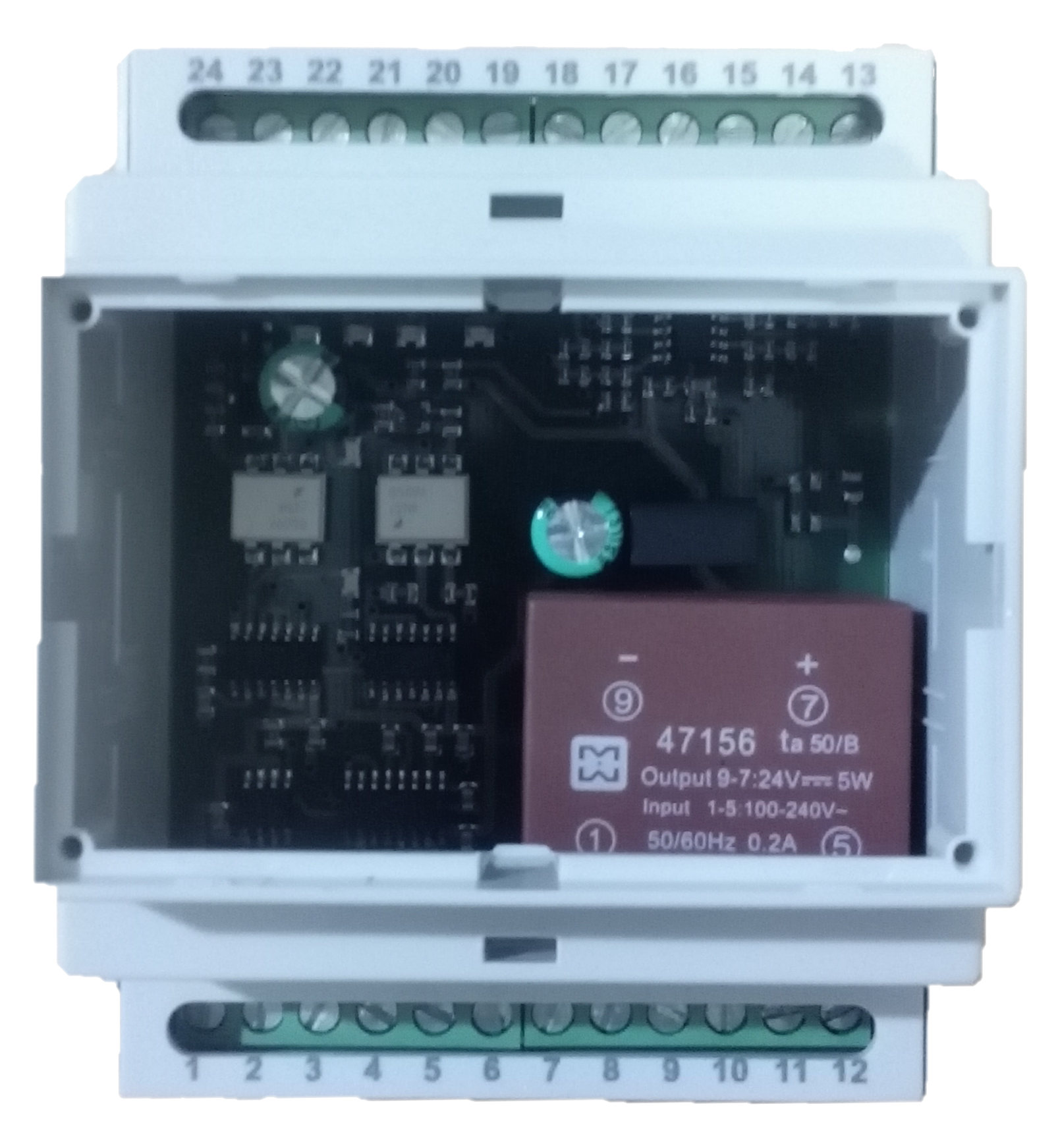 Convertitore da RS232/RS485 a CS 20ma Current Loop attivo