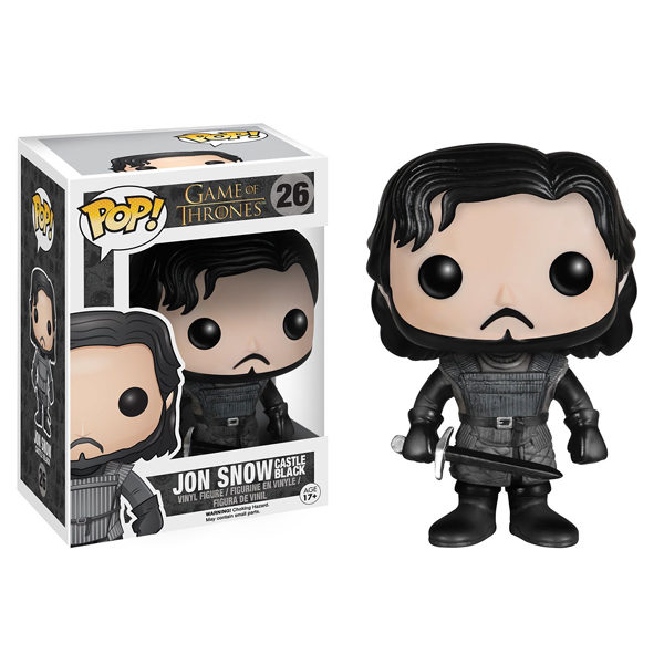 FUNKO POP JON SNOW #26 GAME OF THRONES