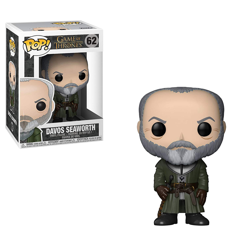 FUNKO POP DAVOS SEAWORTH #62 GAME OF THRONES