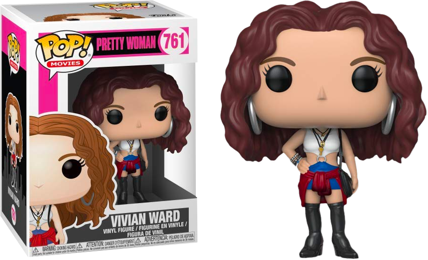 FUNKO POP VIVIN WARD #761 PRETTY WOMAN JULIA ROBERTS MOVIES