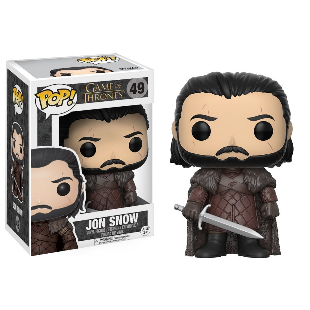 FUNKO POP JON SNOW #49 GAME OF THRONES