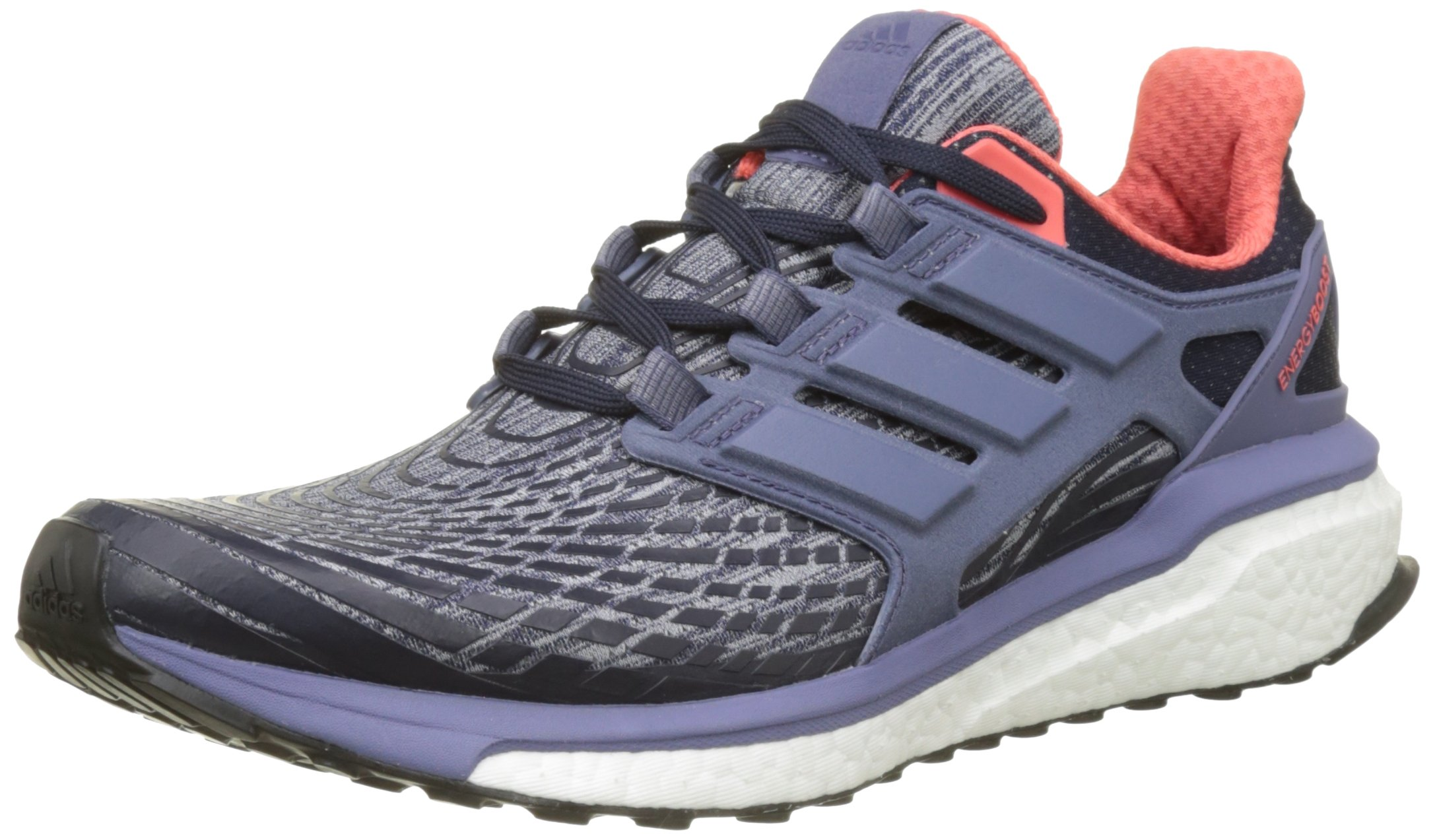 adidas Energy Boost W,(Legend Ink F17/super Purple S16/easy Coral S17)-BB3457-UK 7 - EU 40 2/3