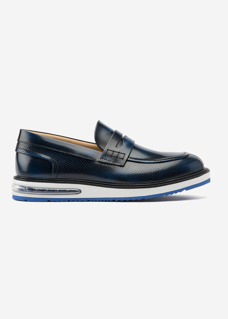 Mocassini Barleycorn Air Cobalt Leather