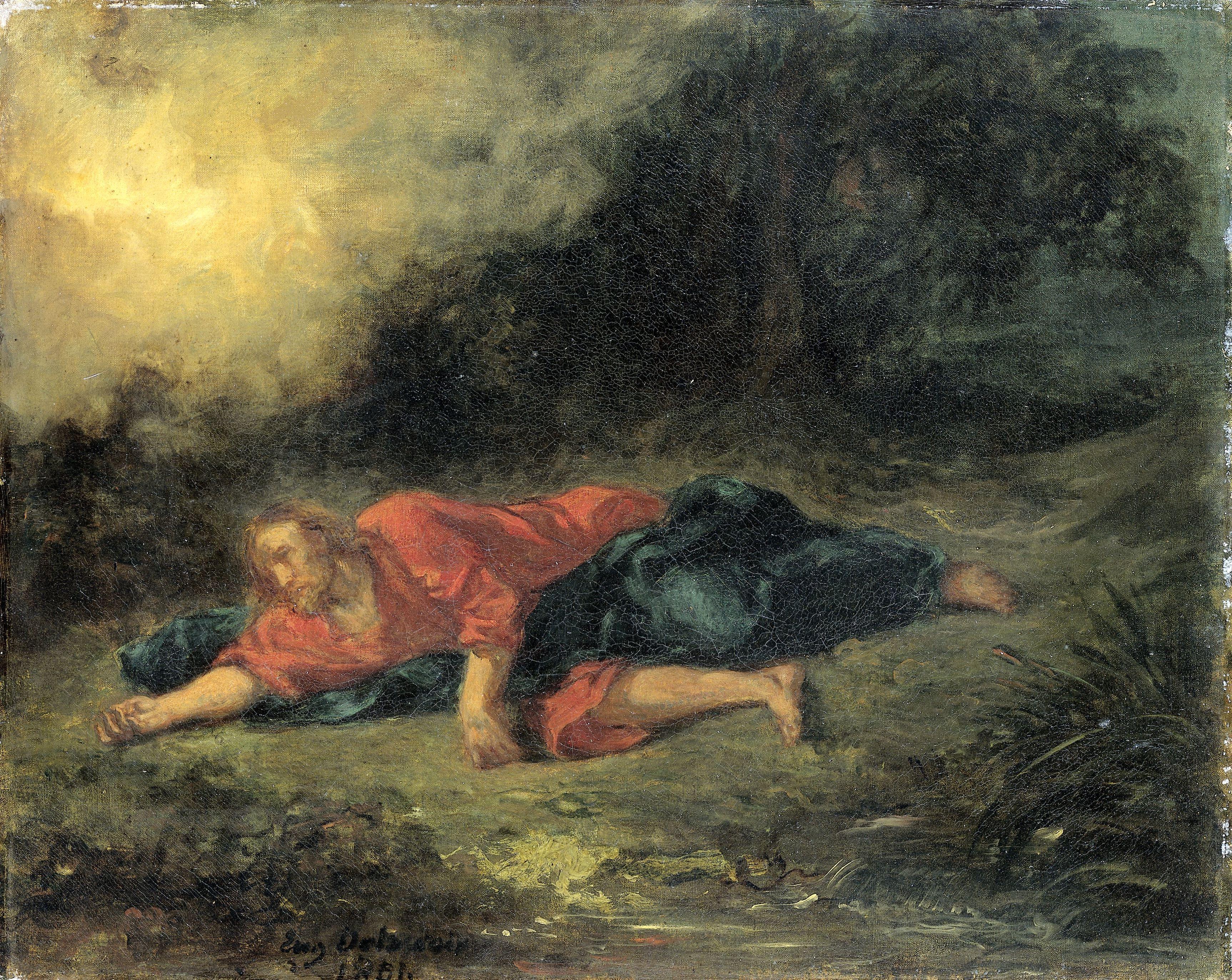 Delacroix Lagonia nel giardino 1851jpg