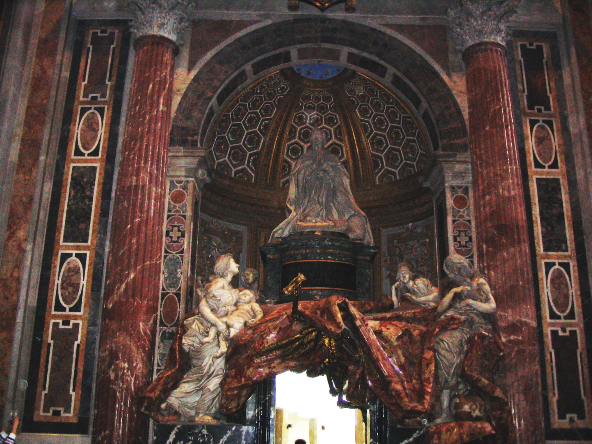 tomba di Alessandro VII di Berninijpeg