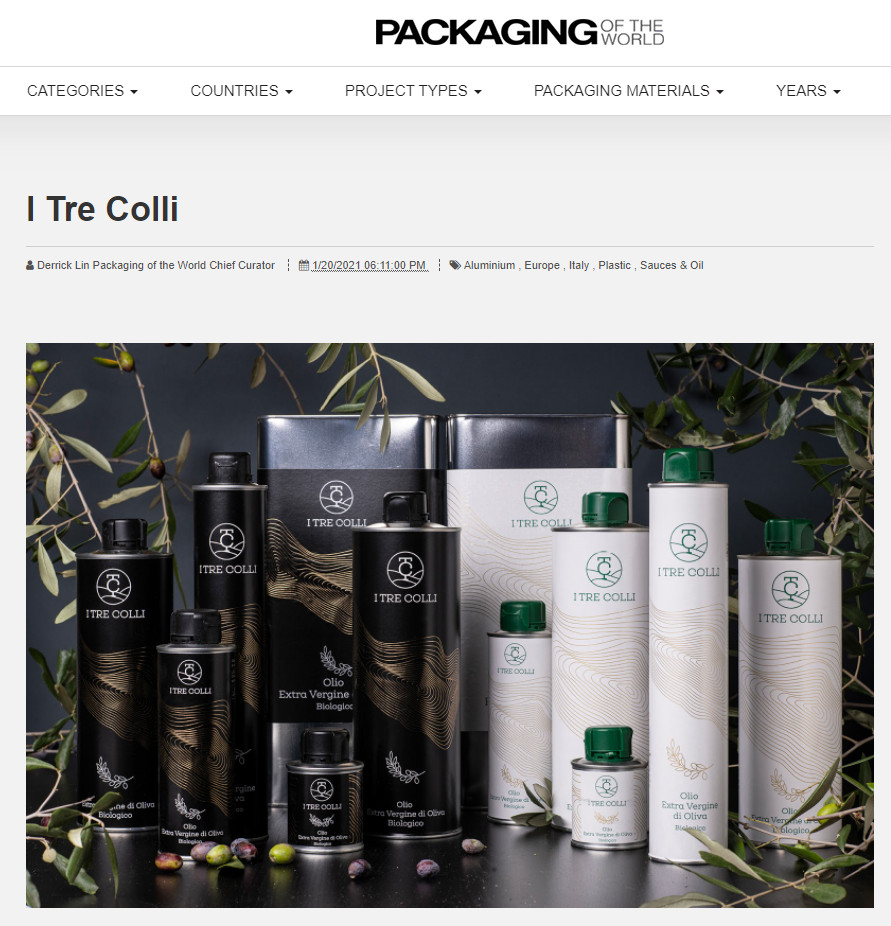"Siamo su ""Packaging of the World""!"