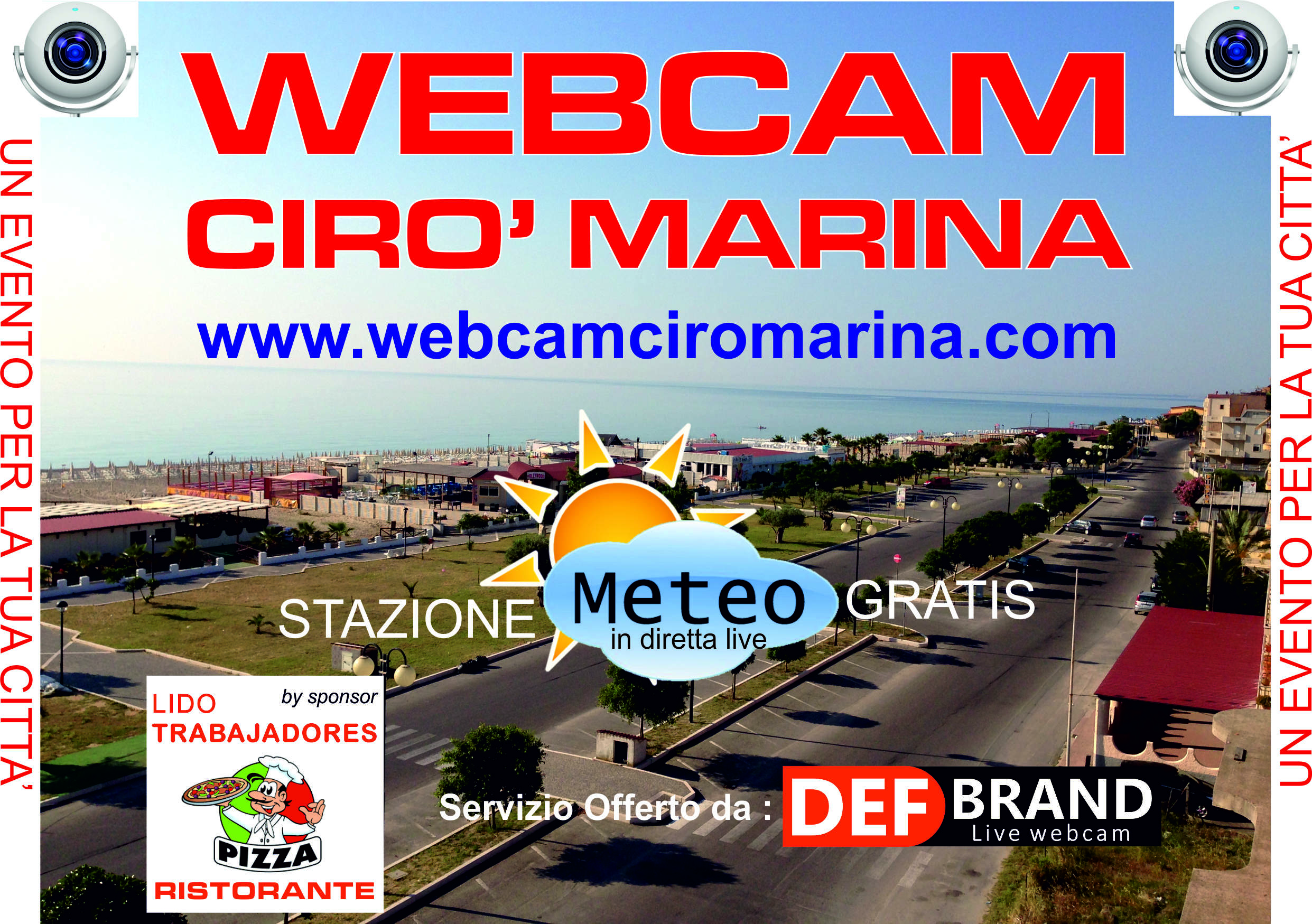 webcam cirò marina