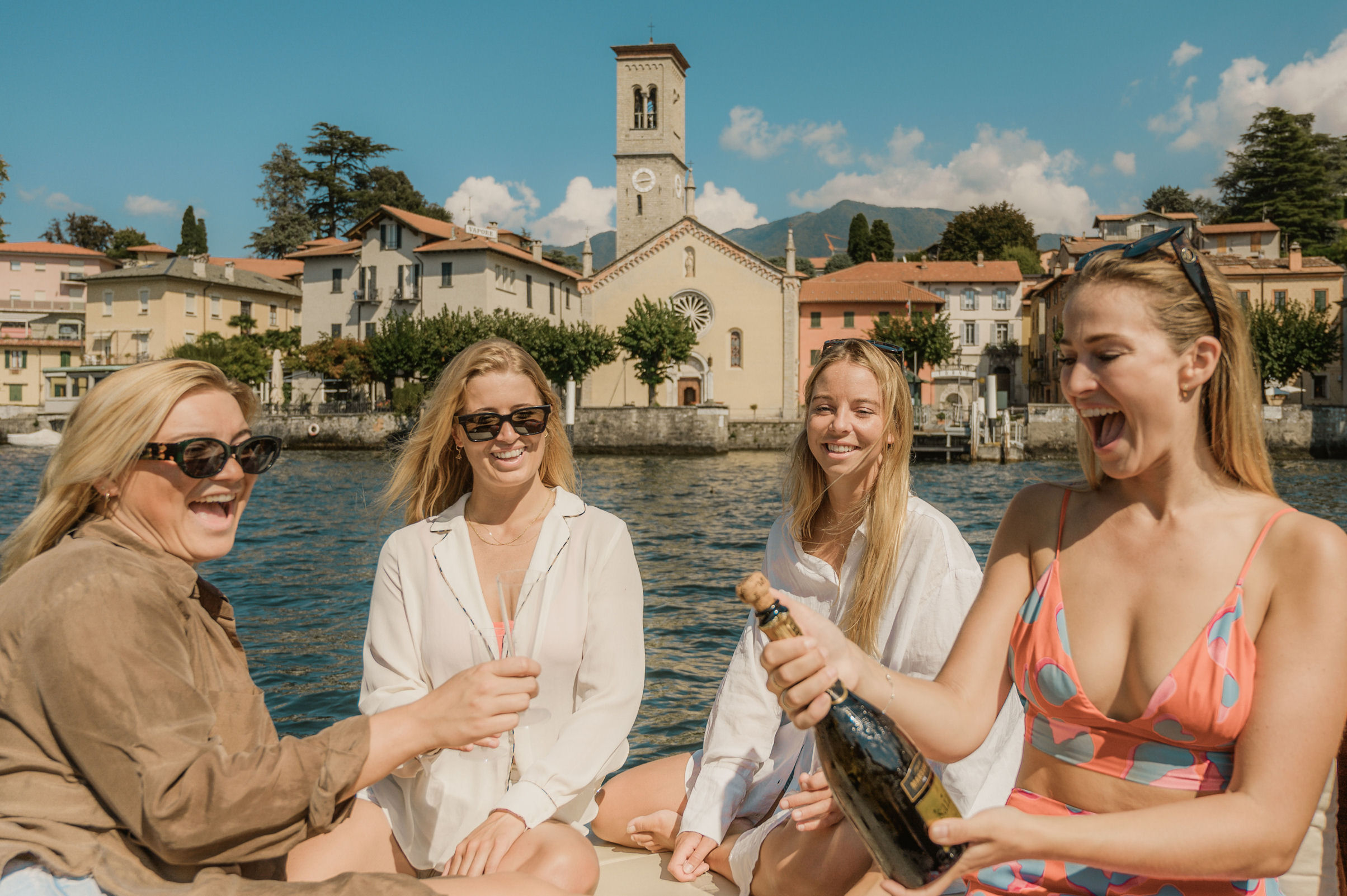 Lake Como boat excursion
