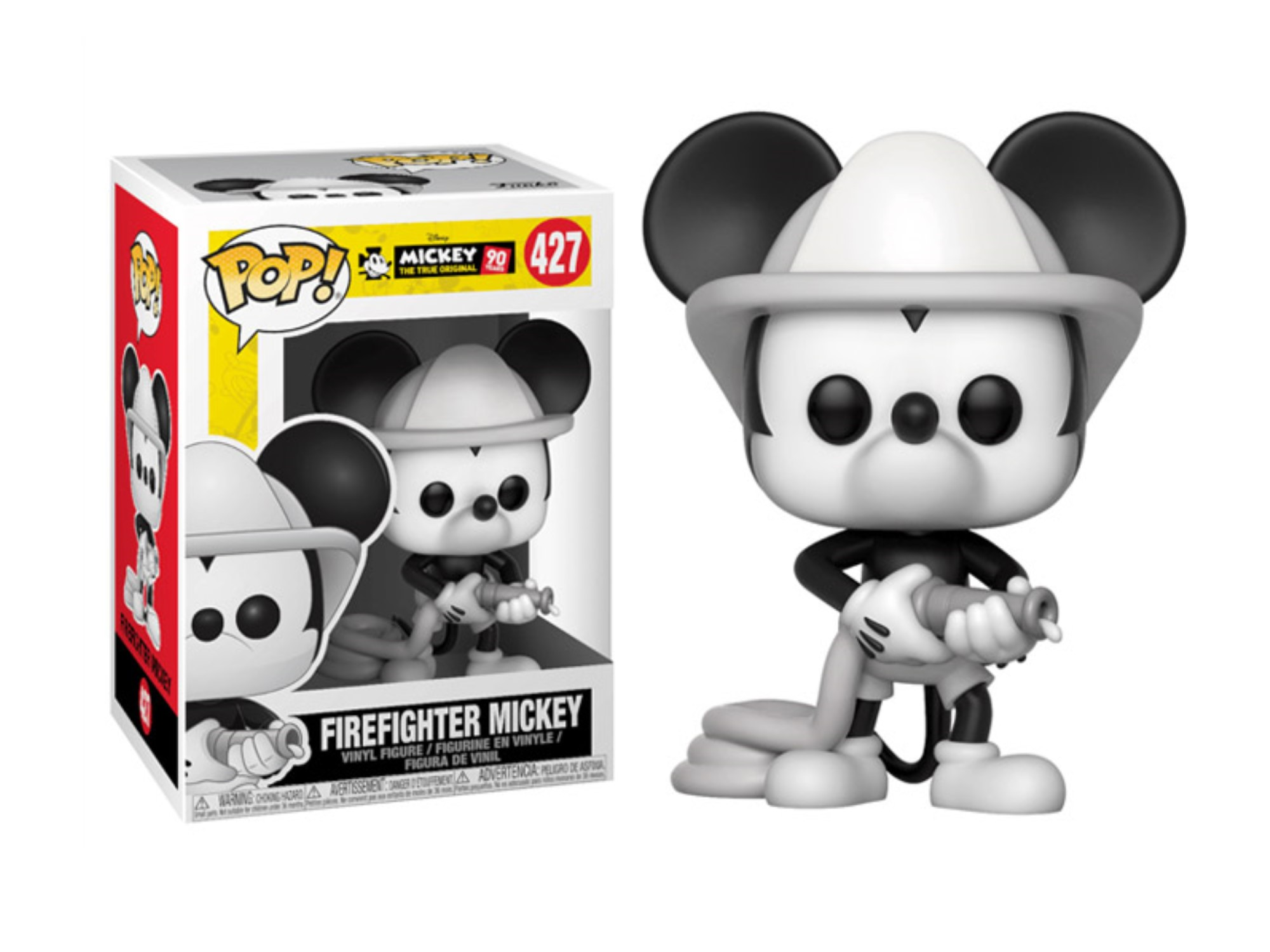 FUNKO POP FIREFIGHTER MICKEY #427 MICKEY MOUSE DISNEY
