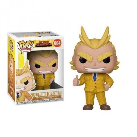 FUNKO POP ALL MIGHT #604 MY HERO ACADEMIA ANIMATION