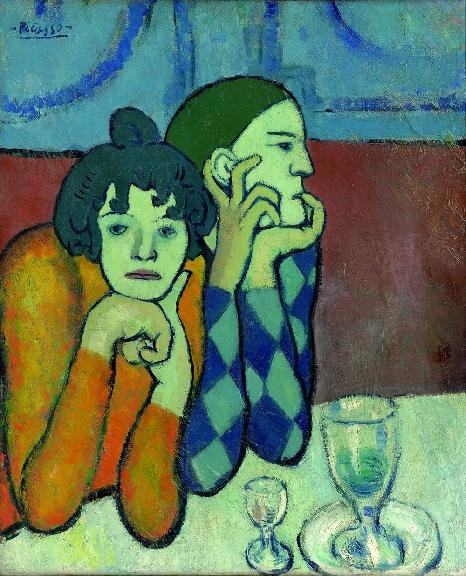 Picasso I due saltimbanchi 1901jpg