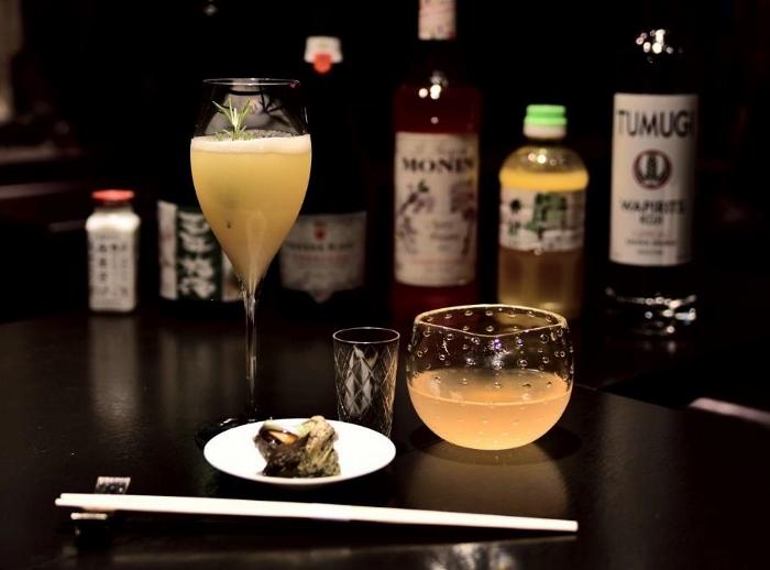 drink 2 e 3 - Japonica antica -sinistra  -  Primaglera destra  jpg