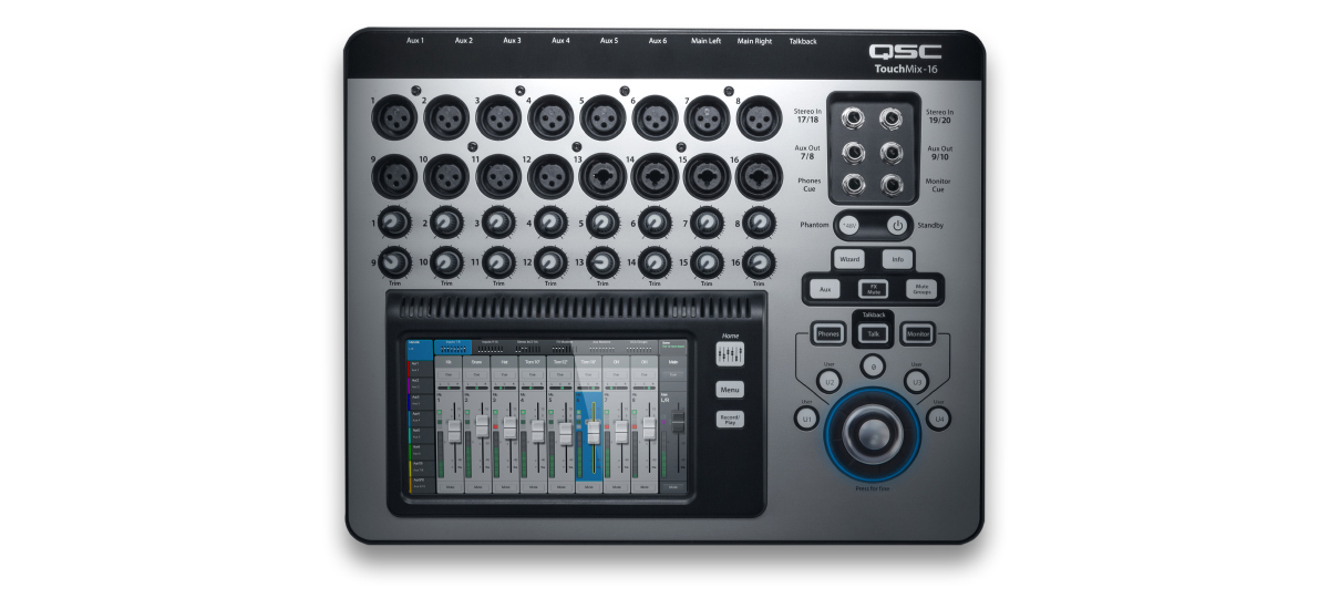QSC TouchMix-16 Mixer Digitale 16 canali
