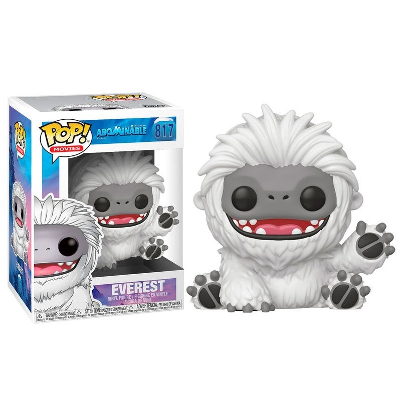 FUNKO POP EVEREST #817 ABOMINABLE MOVIES