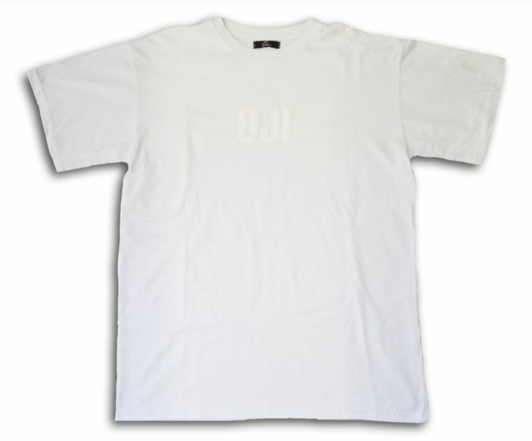OJI BRAND T.SHIRT OVER SIZE WHITE