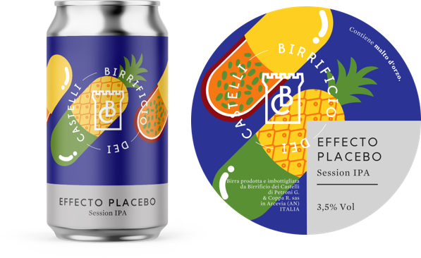 Effecto placebo, session ipa, ipa, italian craft beer, craft beer, made in italy,