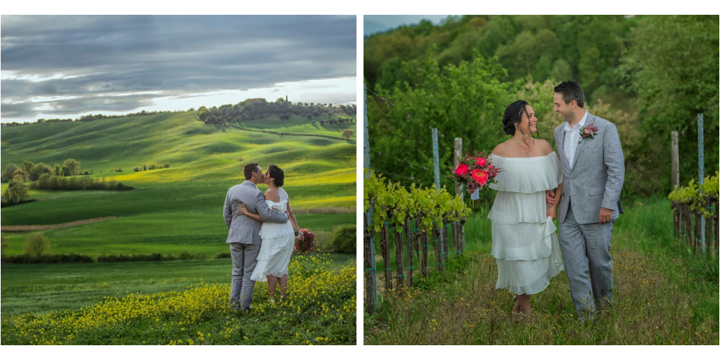 elopement tuscany