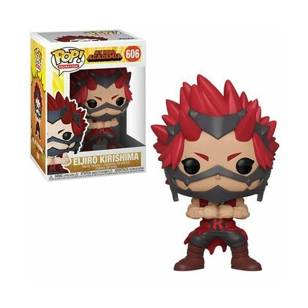 FUNKO POP EIJIRO KIRISHIMA #606 MY HERO ACADEMIA ANIMATION