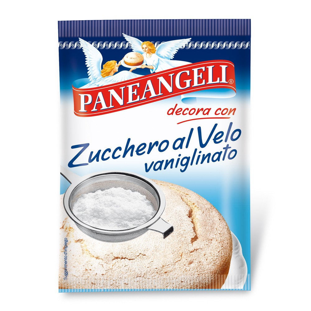 "Icing sugar and icing sugar vanigliato Paneangeli 125gr (4.4oz) ""Imported from Italy"""