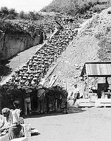 La scala della morte a Mauthausenjpg