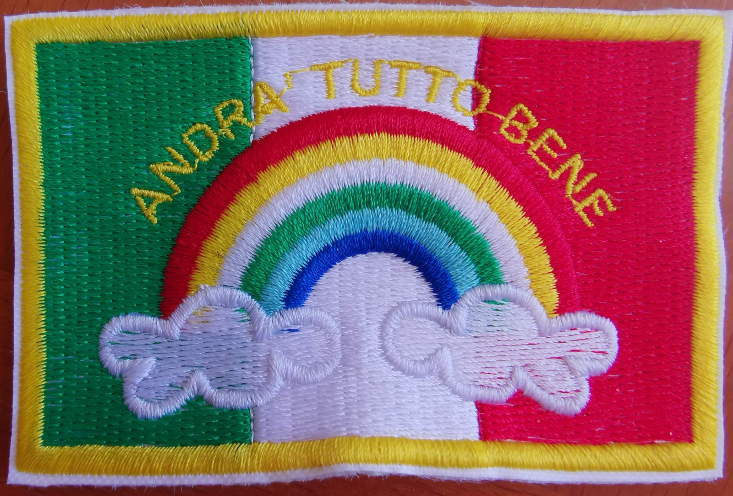 Patch ANDRA' TUTTO BENE