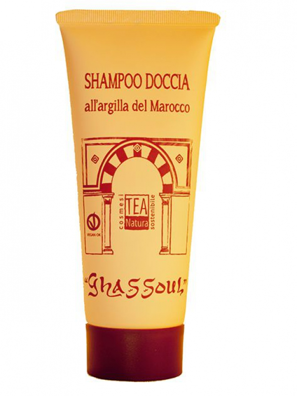 Shampoo Doccia all'Argilla Ghassoul 250ml Tea Natura