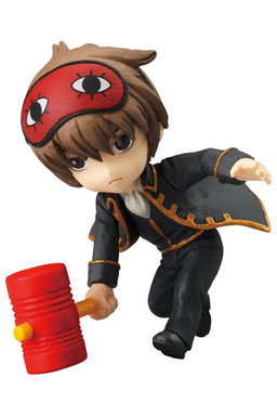 GINTAMA CHIBI-TAMA GEKIJOU THEATER FIGURE PART 3 - BANDAI - SET COMPLETO 7 FIGURE