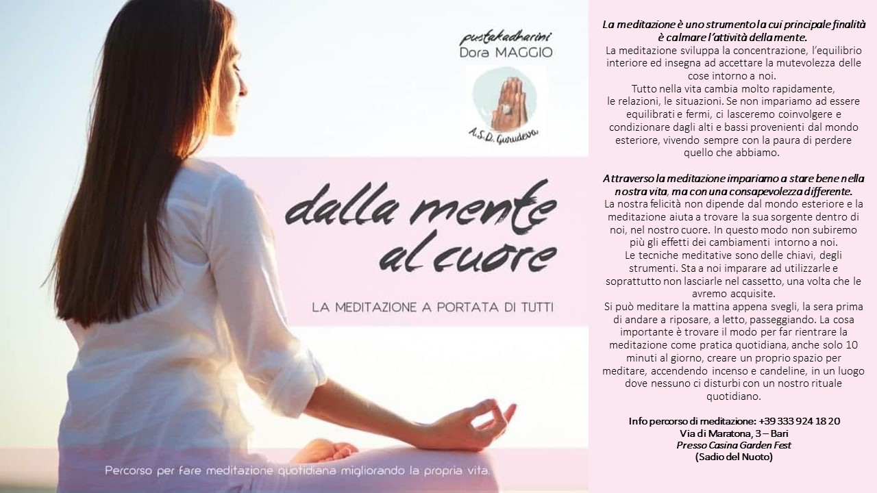 La meditazione  uno strumento la cui principalejpg