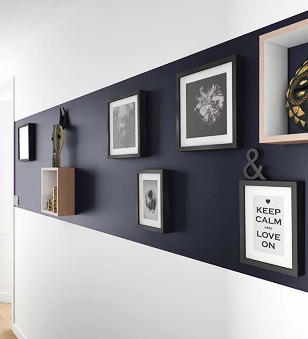 Idee-per-decorare-una-parete-bicolore-pittura-quadrijpg