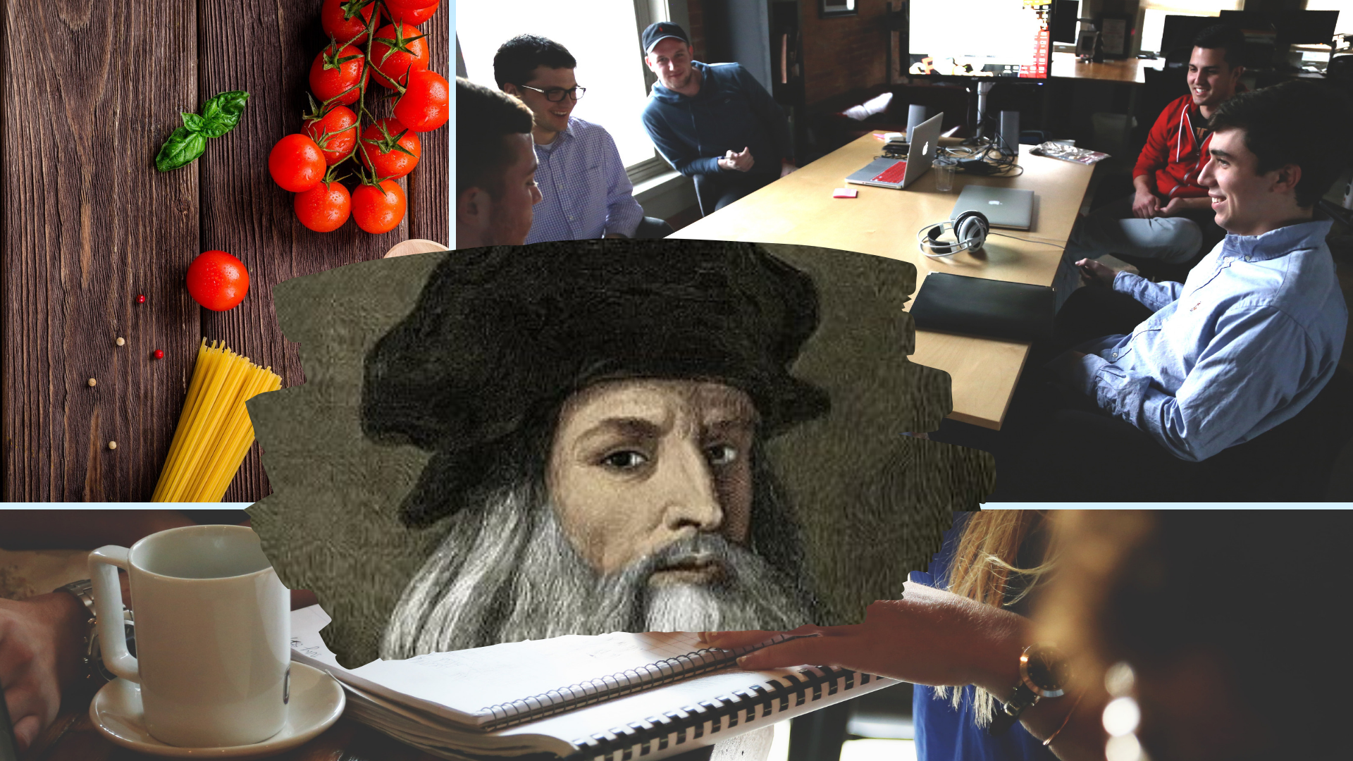 THE ITALIAN 2019: LEONARDO DA VINCI AND OPEN INNOVATION IN FOOD, COINCIDENCE?