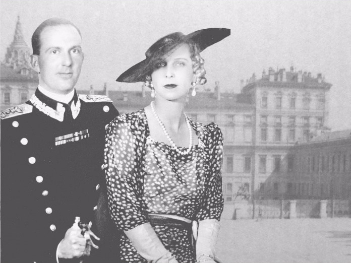 Umberto II e Maria Jose del Belgiojpg