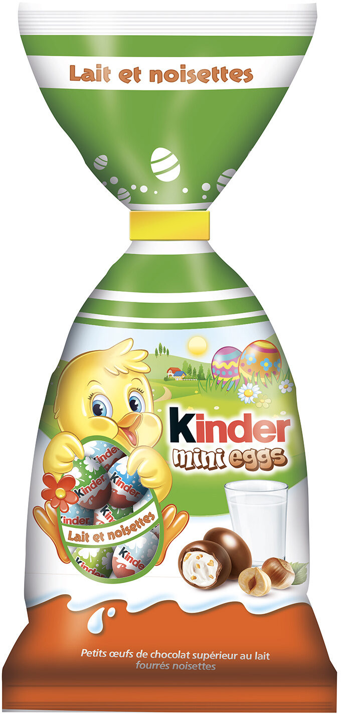"Kinder Mini Eggs 100gr (3.52oz) ""Imported from Italy"""