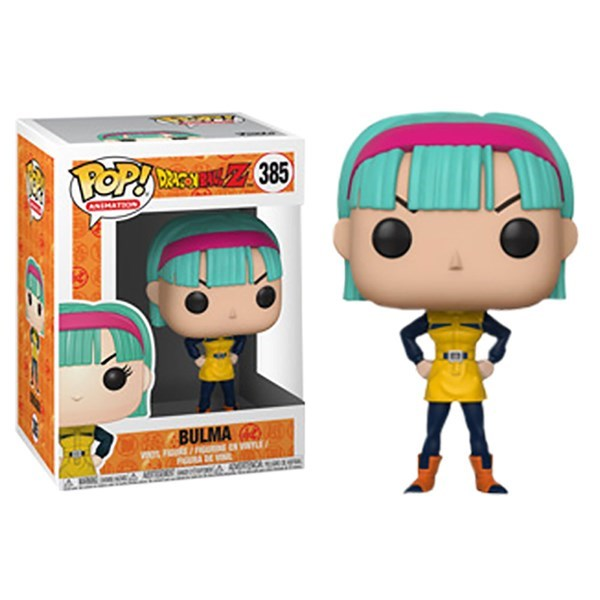 FUNKO POP BULMA #385 DRAGON BALL ANIMATION