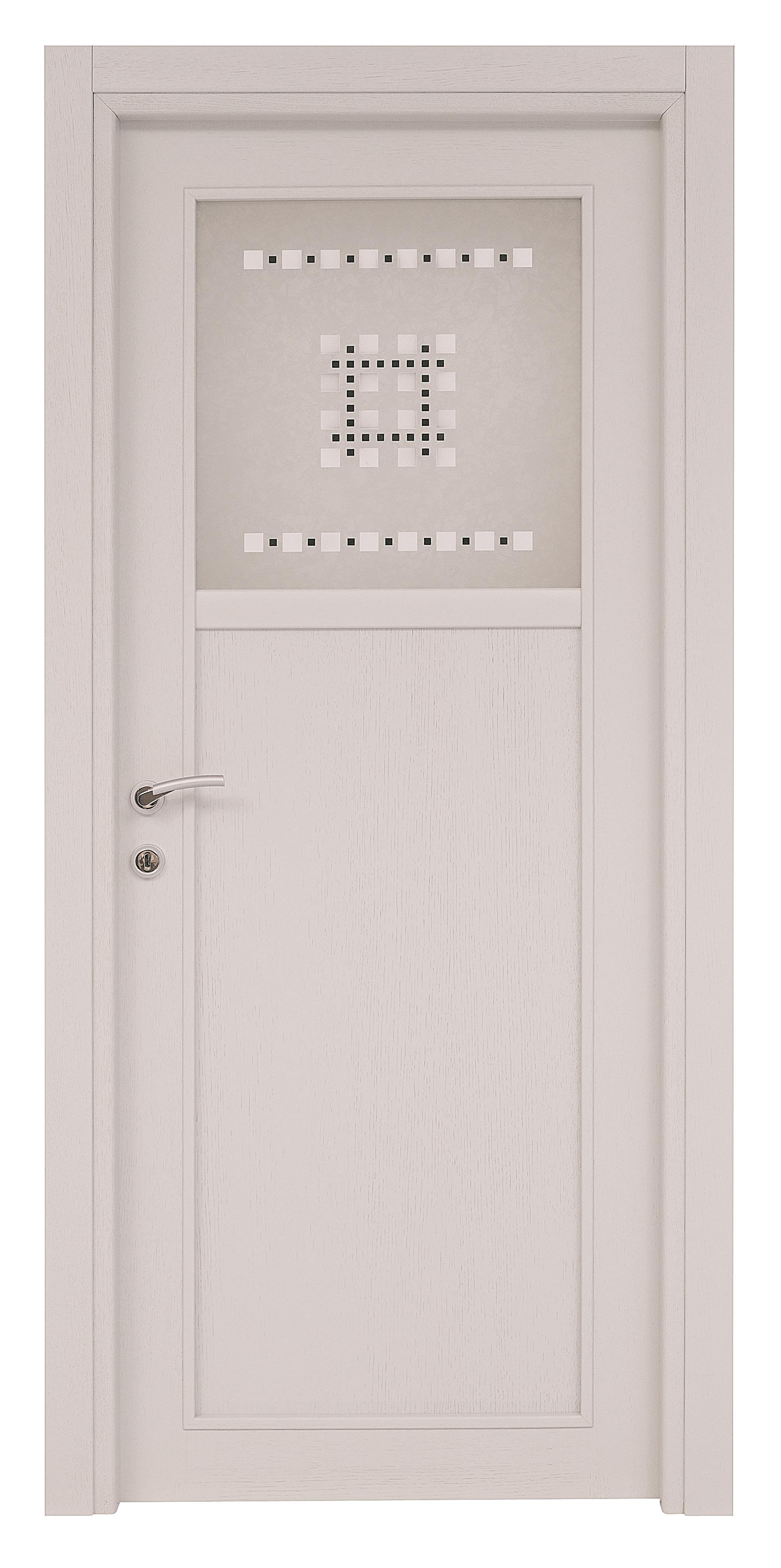 Porte Rovere Sbiancato Spazzolato tamburato-tranciato-moderno