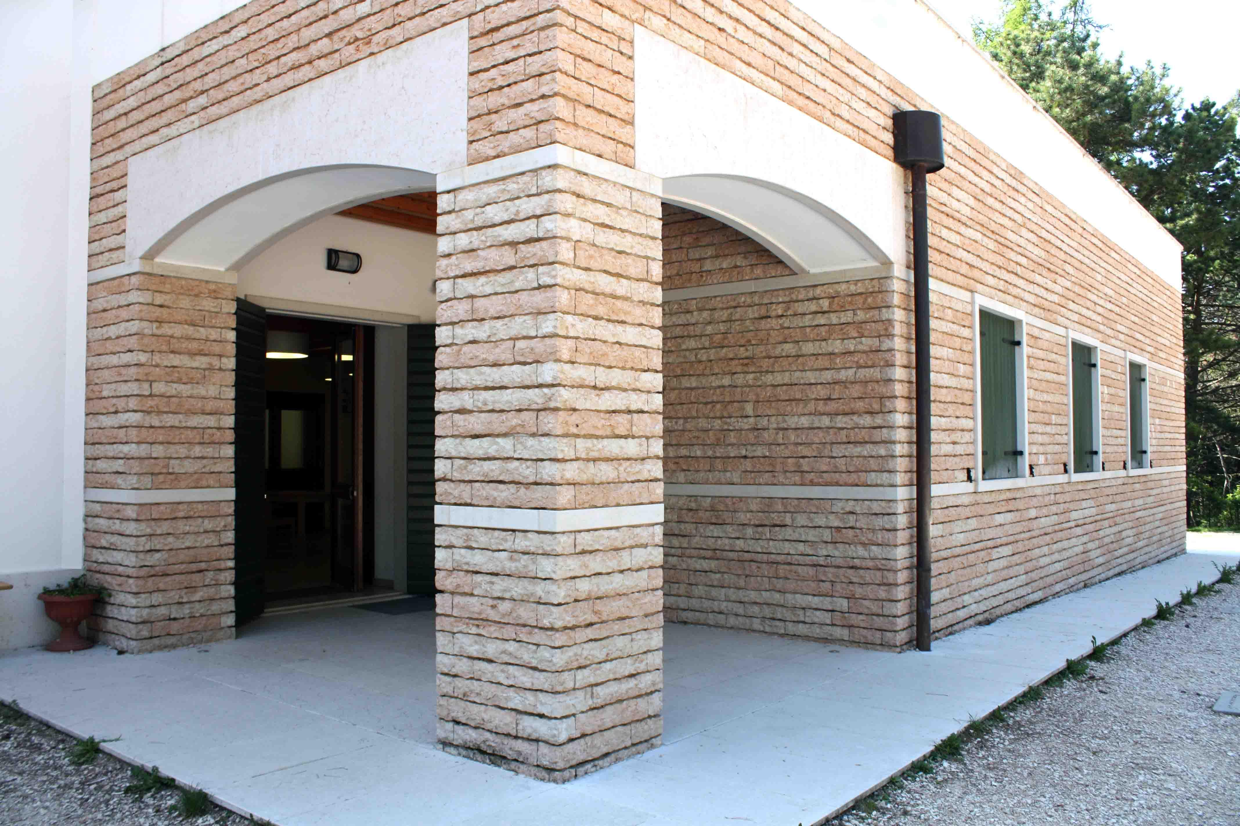 Ingresso Casa Esterno In Pietra loffasnc - lavorazione ed escavazione pietra della lessinia