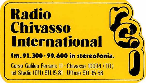 radio chivasso international