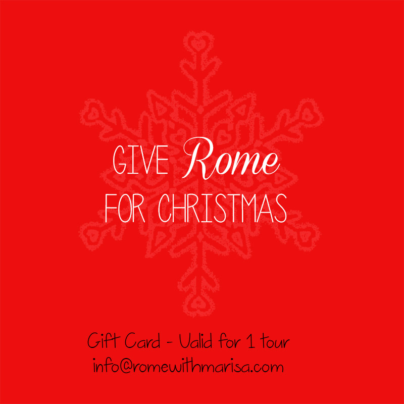 Give Rome for Christmas!